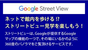 ストリートビュー見学を楽しもう!